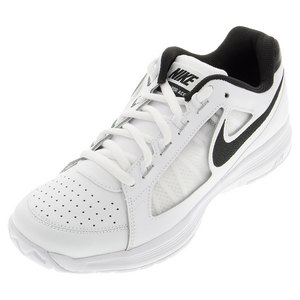Juniors` Air Vapor Ace Tennis Shoes White and Stealth