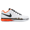 NIKE Men`s Air Zoom Vapor 9.5 Tour Clay Tennis Shoes White and Total Crimson