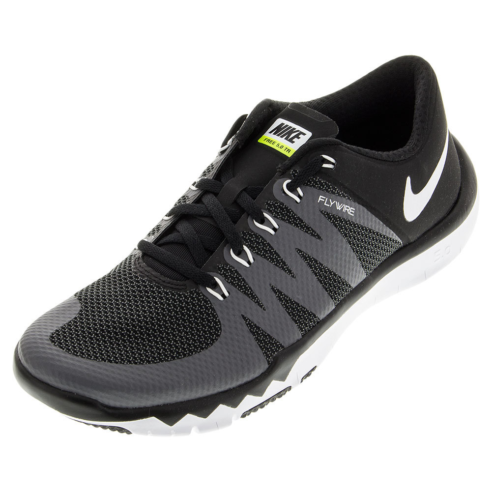 NIKE NIKE Men s Free Trainer 5.0 Shoes Black And Dark Gray 64761557f
