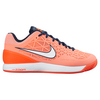 NIKE Women`s Zoom Cage 2 Clay Tennis Shoes Atomic Pink and Total Crimson