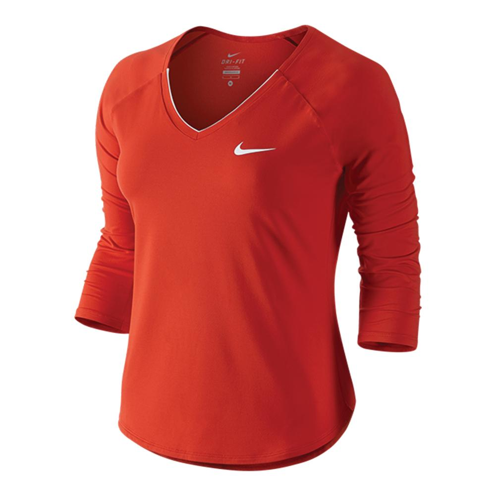 Women's Pure 3/4 Sleeve Tennis Top