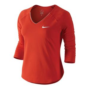 Women`s Pure 3/4 Sleeve Tennis Top