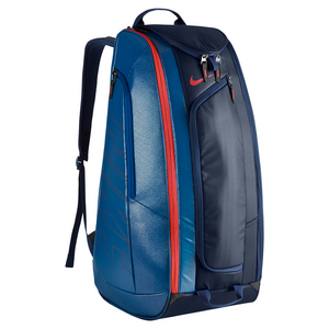 Tennis Court Tech 1 Bag Midnight Navy and Court Blue