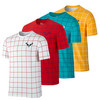 NIKE Men`s Rafa Short Sleeve Tennis Crew Tee