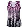 ATHLETIC DNA Girls` Dots Refresh Tennis Tank Magenta Purple
