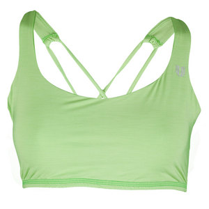 Women`s Perfect Set Tennis Bra Opaline Green