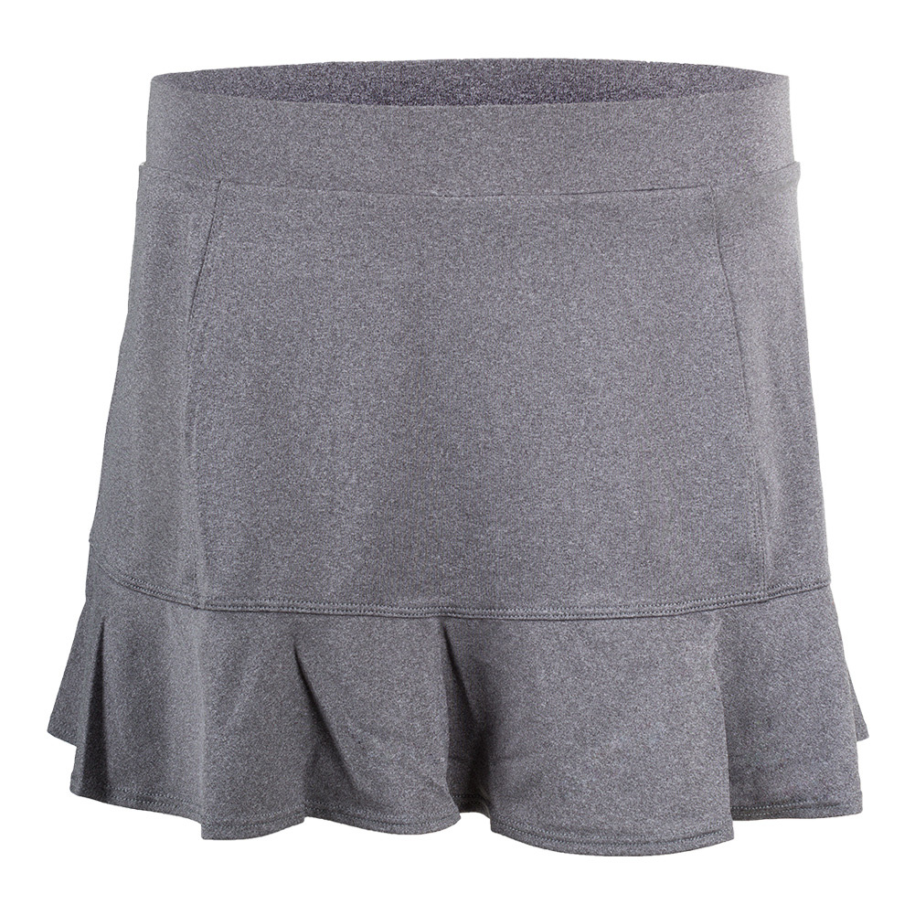 Women's Jennifer 12.5 Inch Tennis Skort Frosted Heather