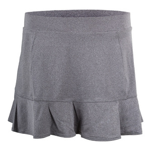 Women`s Jennifer 12.5 Inch Tennis Skort Frosted Heather