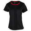 TAIL Women`s Selma Cap Sleeve Tennis Top Black
