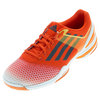 Men`s Sonic Rally Tennis Shoes Bold Orange and Dark Gray by ADIDAS