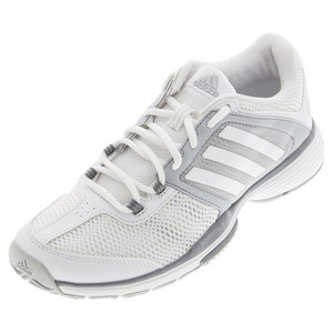 adidas WOMENS BARR CLUB TNS SHOES WH/CLR ONYX
