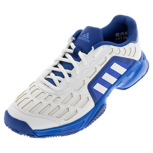 adidas MENS BARR CRT 2 TNS SHOES WH/SH BL