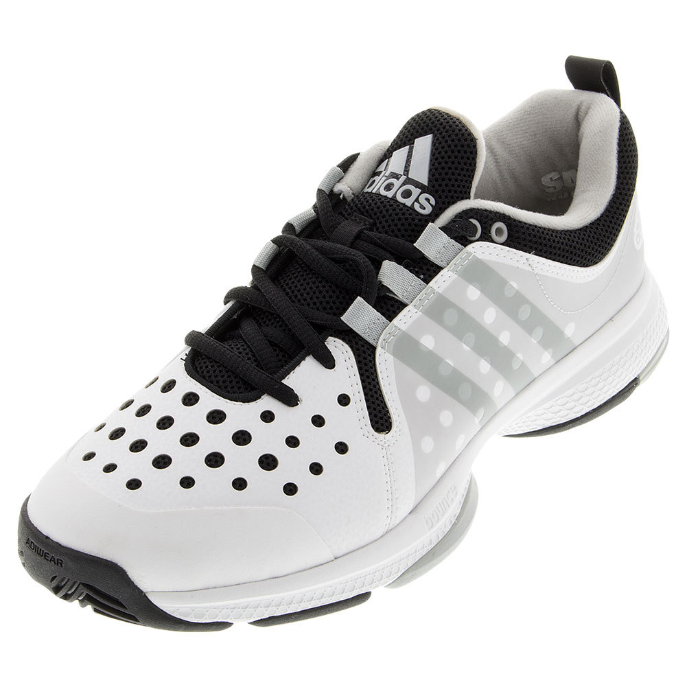 s barricade classic bounce wide tennis shoes white and