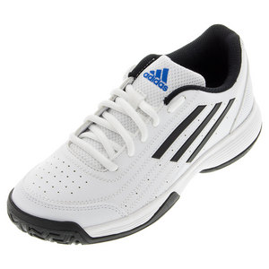 Juniors` Sonic Attack K Tennis Shoes White and Black
