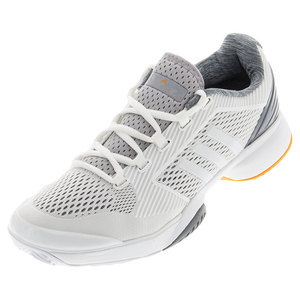 Women`s aSMC Barricade Tennis Shoes White and Bright Gold