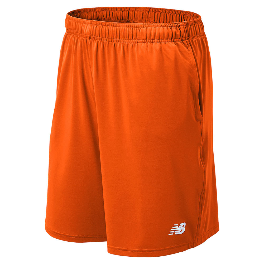 Men's Tech Tennis Short Orange