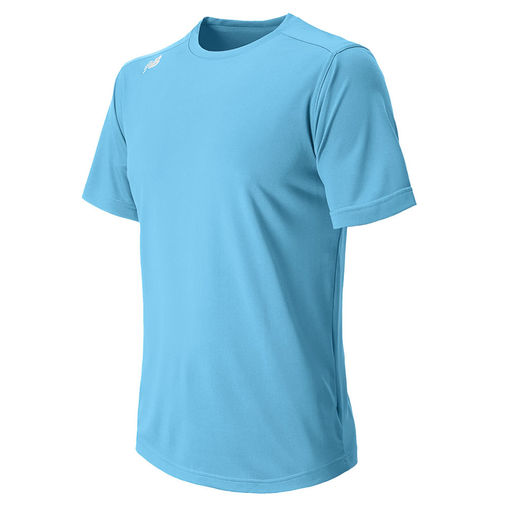 Men's Short Sleeve Tech Tee Columbian Blue