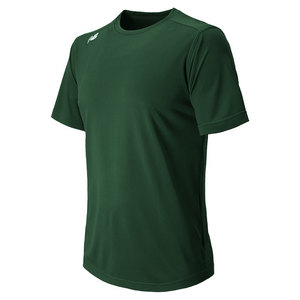 Men`s Short Sleeve Tech Tee Dark Green