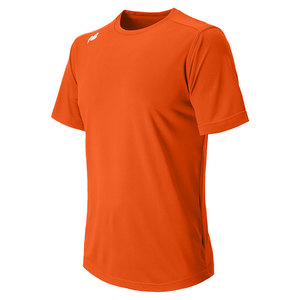 Men`s Short Sleeve Tech Tee Orange