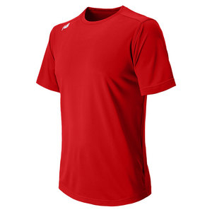Men`s Short Sleeve Tech Tee Red