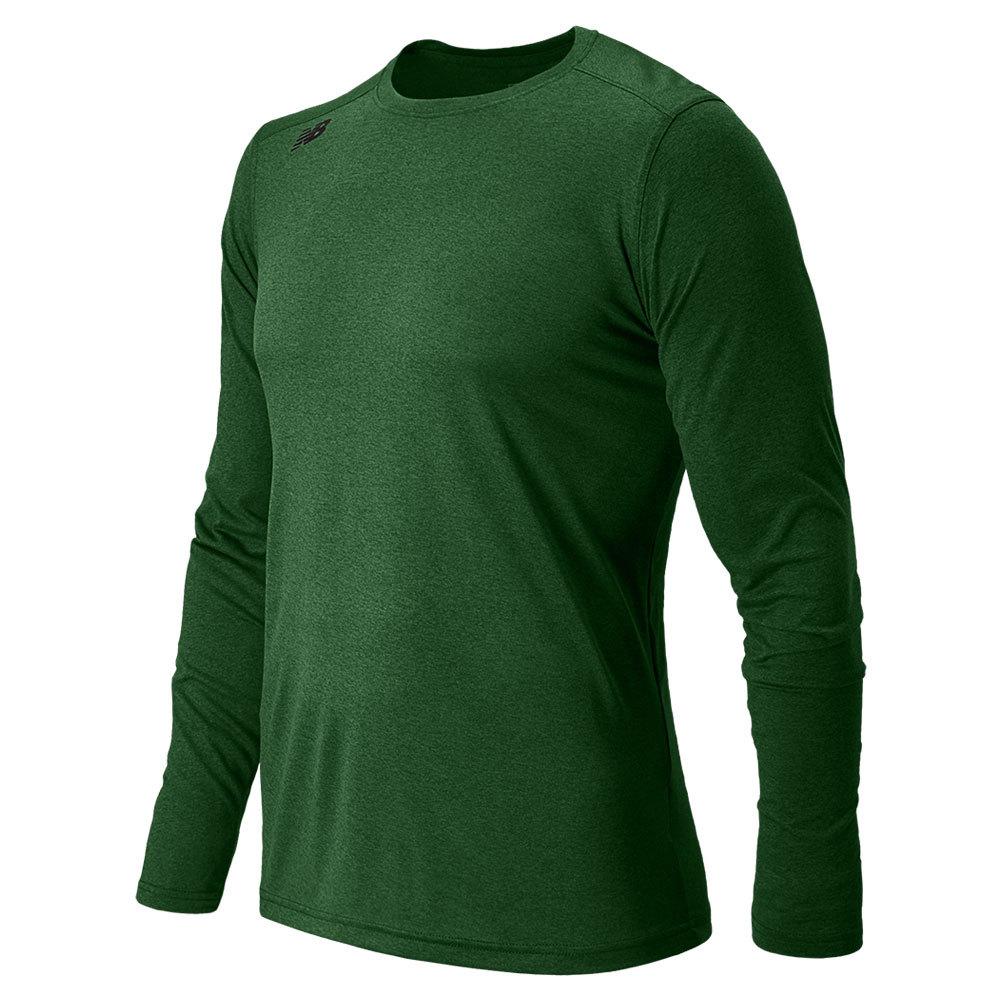 Men's Long Sleeve Tech Tee Dark Green