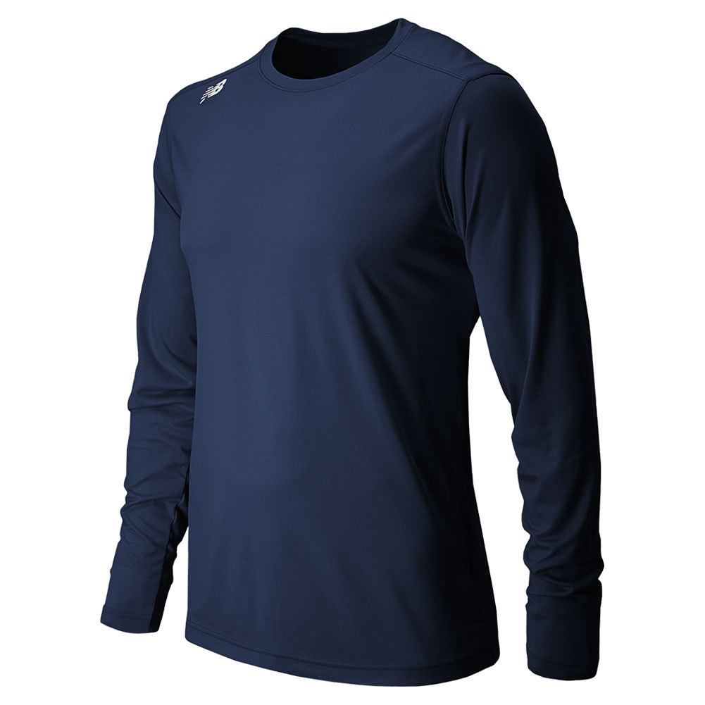 Men's Long Sleeve Tech Tee Navy