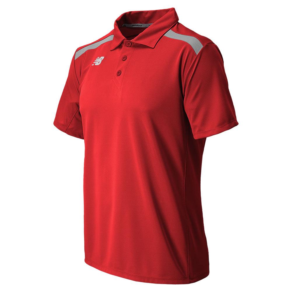 Men's Tennis Polo Red