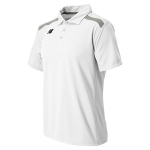 Men`s Tennis Polo White