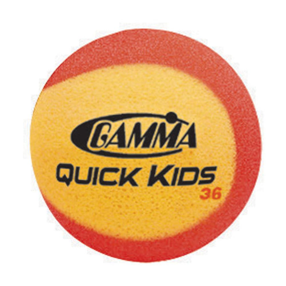 Quick Kids 36 Foam Tennis Balls Sixty Pack