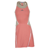 ADIDAS Girls` Stella McCartney Barricade Tennis Dress Coral Pink and Powder Rose Pink