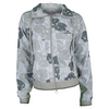 ADIDAS Women`s Stella McCartney Australia Tennis Jacket Glacial and Vista Gray