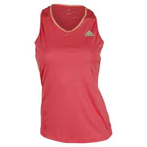 Women`s Club Tennis Tank Shock Red