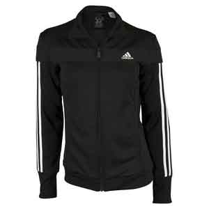 Women`s Club Tennis Jacket Black and White