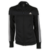 ADIDAS Women`s Club Tennis Jacket Black and White