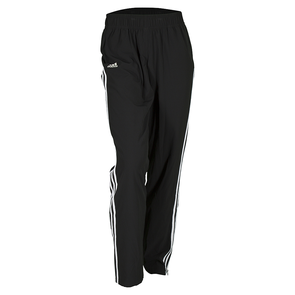 Women's Club Tennis Pant Black And White