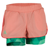ADIDAS Girls` Club Trend Tennis Short Sun Glow and Green Glow