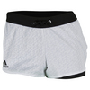 ADIDAS Women`s Tennis Core Short White and Black