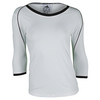 ADIDAS Women`s Tennis Core Three-Quarter Sleeve Tee White