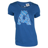 Women`s A Graphic Tennis Tee EQT Blue by ADIDAS