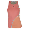 ADIDAS Women`s Stella McCartney Australia Tennis Tank Coral Pink and Semi Flash Orange