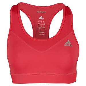 Women`s Techfit Bra Shock Red