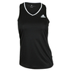 ADIDAS Women`s Club Tennis Tank Black
