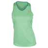 ADIDAS Women`s Club Tennis Tank Green Glow