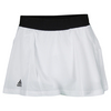ADIDAS Girls` Club Tennis Skort White and Black