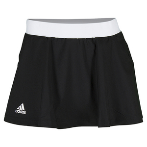 Women`s Club Tennis Skort Black and White