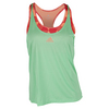 ADIDAS Women`s Club Trend Tennis Tank Green Glow