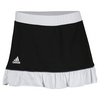 ADIDAS Women`s Court 14 Inch Tennis Skort Black and White