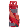 ADIDAS Girls` Adizero Tennis Dress Shock Red and Shock Green