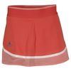 ADIDAS Girls` Stella McCartney Barricade Tennis Skort Lipstick and Coral Pink