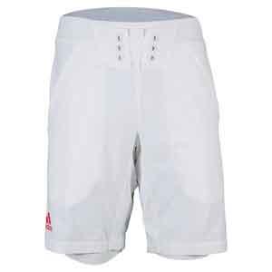adidas MENS ADIZERO TNS SHORT WHITE